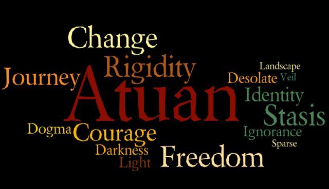 Tombs of Atuan Wordle