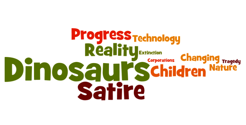 Jim Henson's Dinosaurs Word Cloud