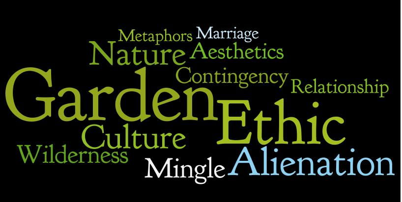 Michael Pollan Second Nature: A Gardener's Education Word Cloud 2