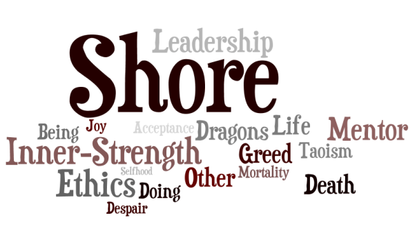 Farthest Shore Earthsea Word Cloud