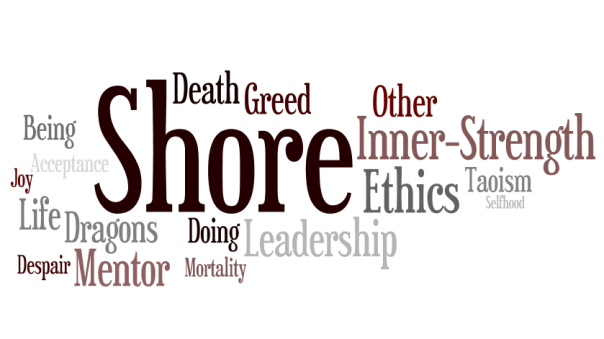The Farthest Shore Word Cloud Earthsea