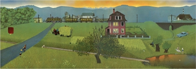 Jörg-Müller The Changing Countryside - August 1956