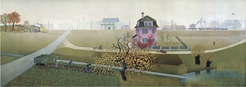 Jörg-Müller The Changing Countryside - January 1958