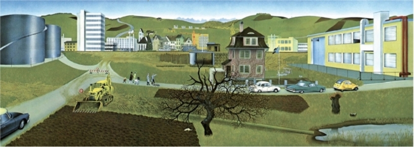 Jörg-Müller The Changing Countryside - April 1956