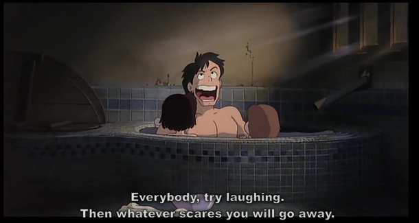 Ghibli My Neighbor Totoro Laughter
