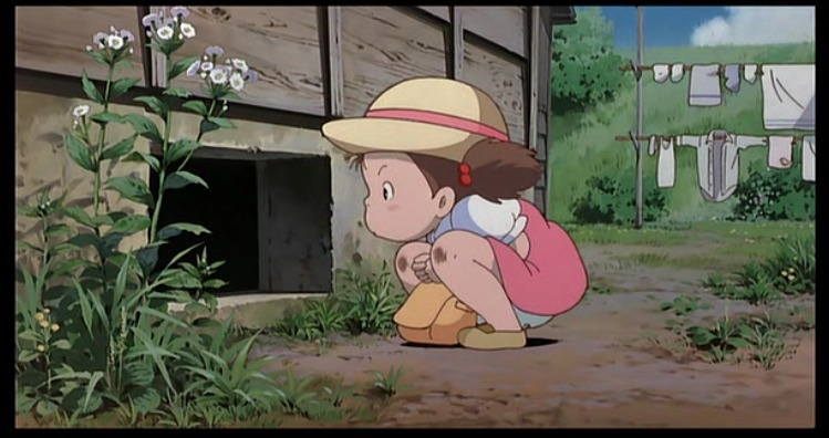 Ghibli My Neighbor Totoro - Mei Dirty Knees
