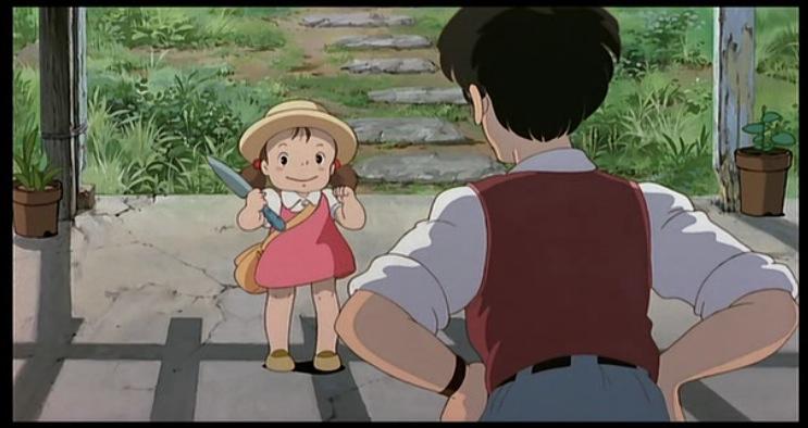 Ghibli My Neighbor Totoro Spade