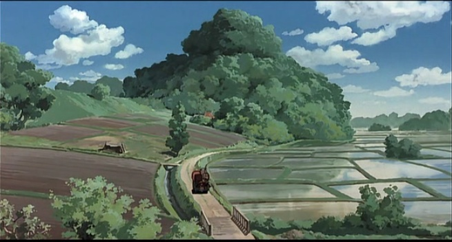 Ghibli My Neighbor Totoro - Rice Paddies