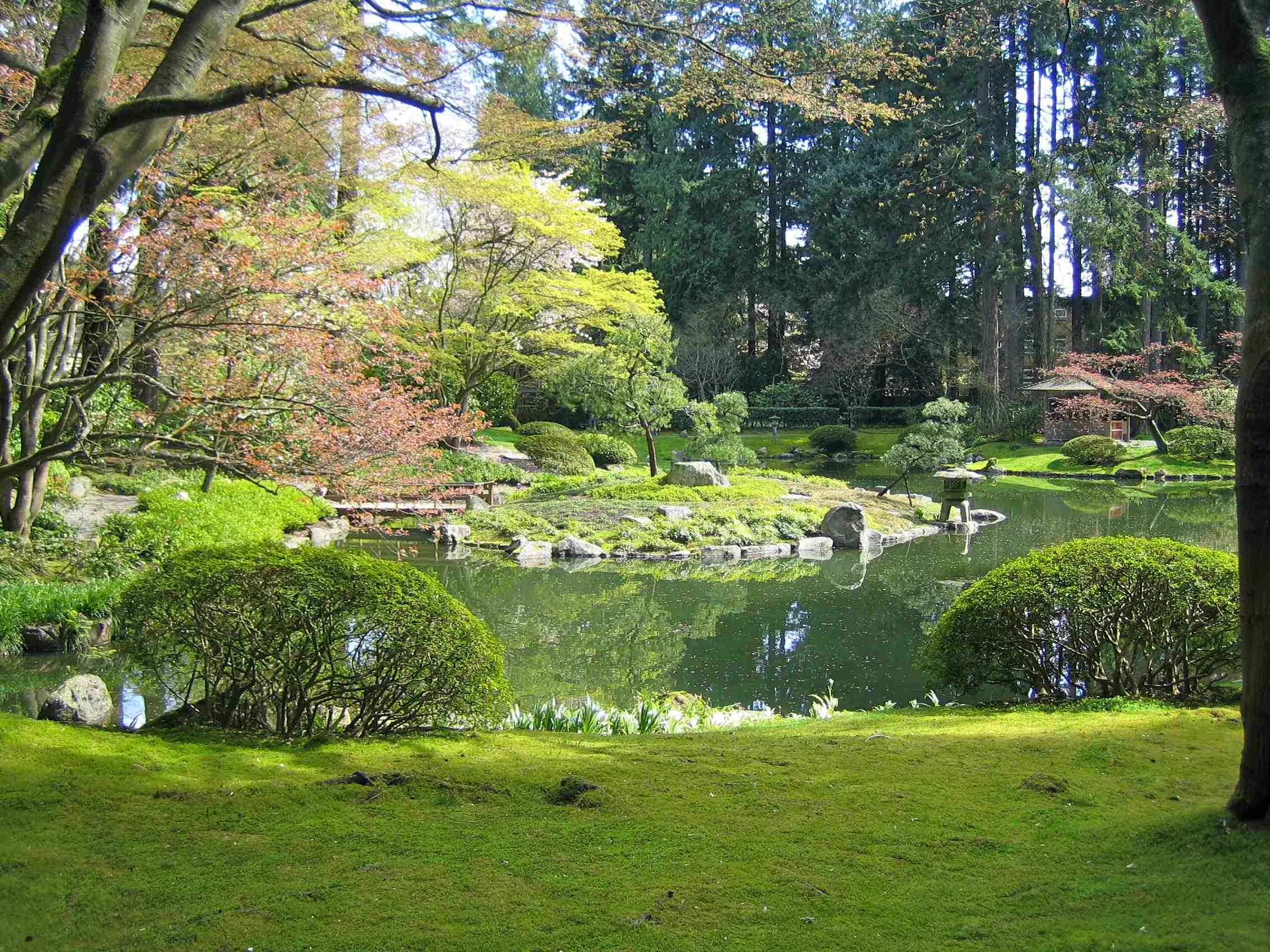 A landscape s story the nitobe memorial garden ekostories for Japanese zen garden