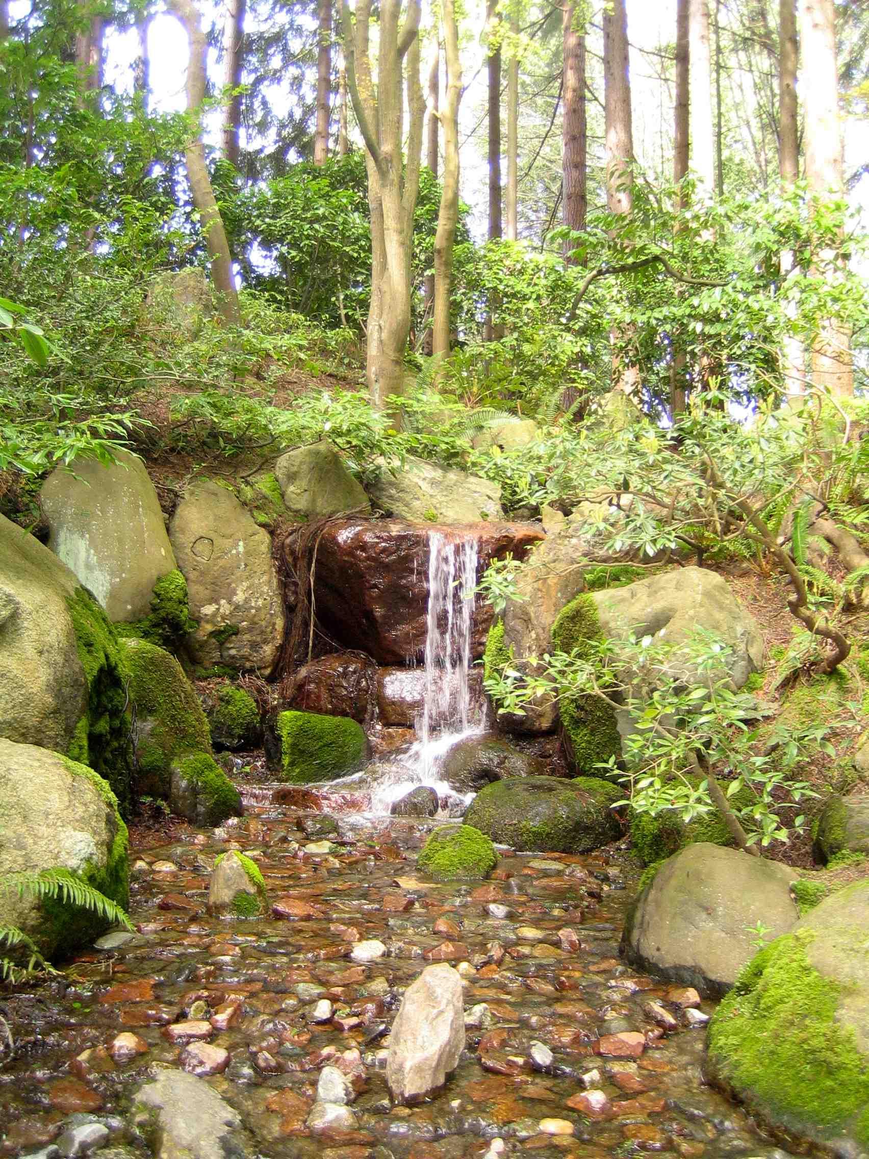 Nitobe Japanese Zen Garden U2013 Waterfall Taki Ishi Gimi