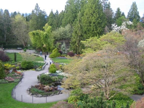 Queen Elizabeth Park Quarry Garden