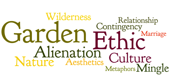 Michael Pollan Second Nature Word Cloud 1