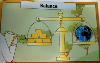 Economy environment Scale The Inconvenient Truth Balance