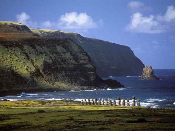 Easter Island Edge of the world