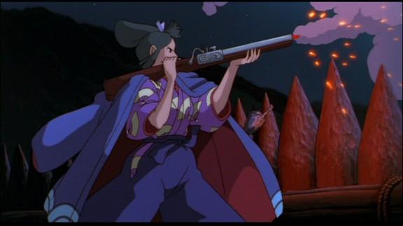 Princess Mononoke Eboshi Testing Gun