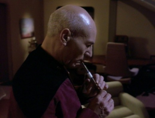 Star Trek TNG Inner Light Ressikan flute