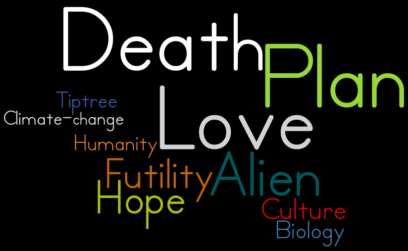 Tiptree Love is the Plan Death Wordle