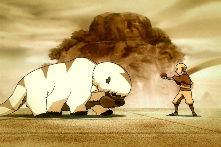 Avatar Appas Lost Days Appa And Aang