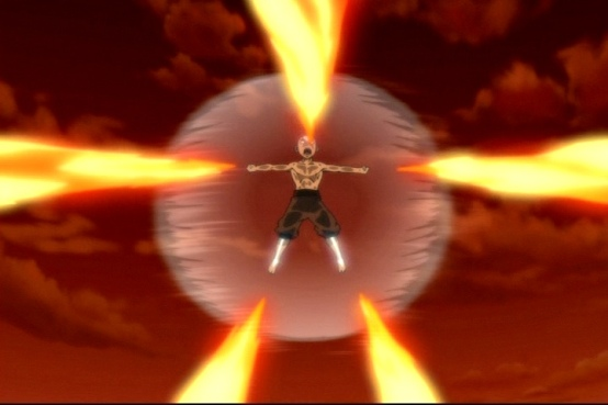 Avatar Aang - Uncontrolled spirit