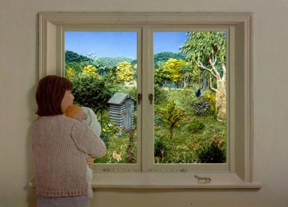 Jeannie Baker Window Countryside