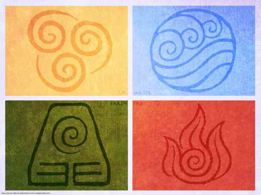 Avatar Four Elements by Ebelin