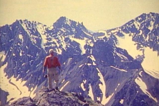 Proenneke Hiking to summit