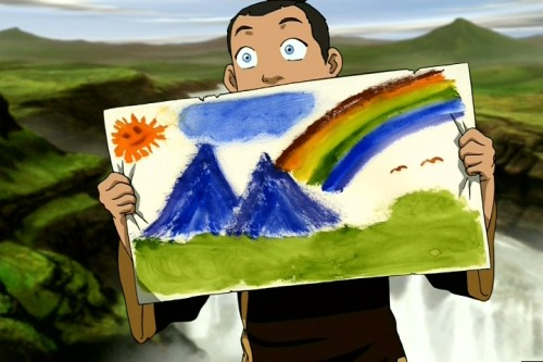 Sokka's Master - Painting Rainbows