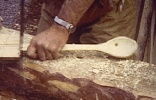 Proenneke - Spoon Carving