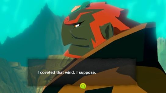 Zelda TWW Ganondorf Covet Wind