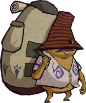 The Wind Waker Traveling Goron Merchant