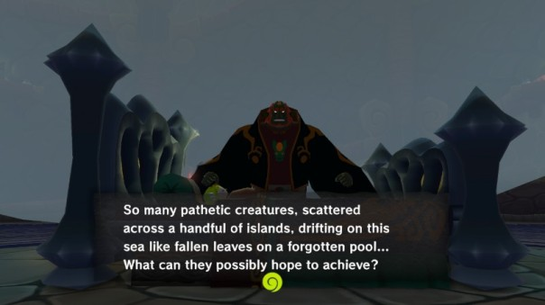 Zelda TWW Leaves Scattered Wind Waker