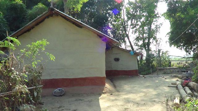 Nepal Tharu Home