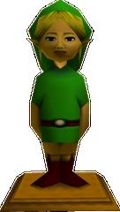 Majora's Mask Link Statue