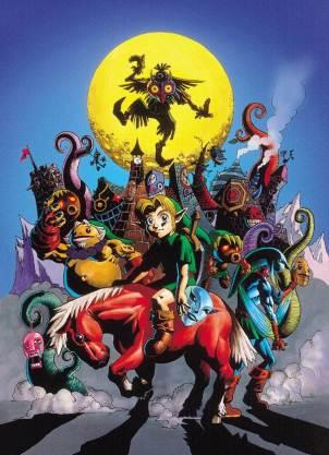 Majora's Mask Official Artwork