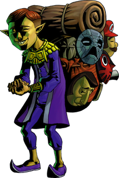 Majora's Mask Happy Salesman