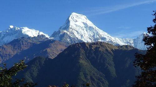 View from Deurali Pass