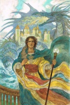 A Wizard of Earthsea. Image by Rebecca Guay