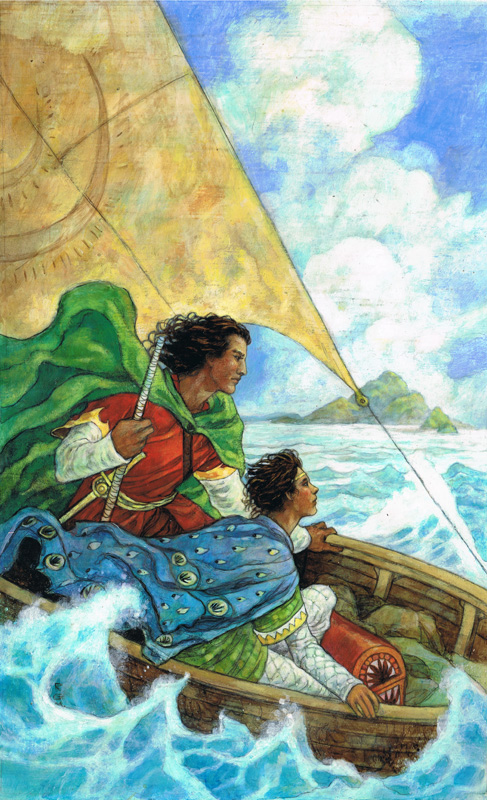 the farthest shore the earthsea cycle