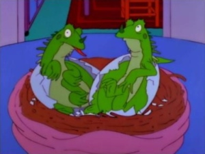 Simpsons Bart the Mother Lizards