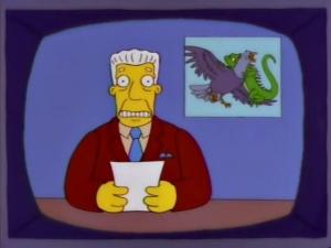 Simpsons Brockman pigeons