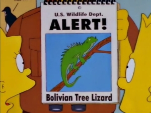 Simpsons Invasive Species