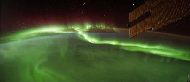 Aurora from Space - Overview Effect