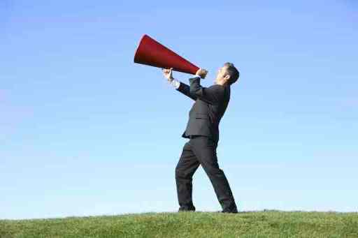 Boasting of Good Deeds Megaphone