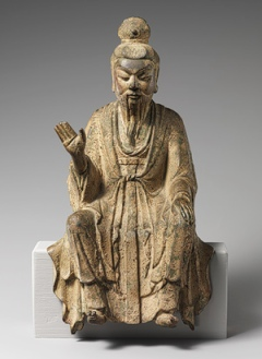 Laozi Tang Dynasty Bronze Statue
