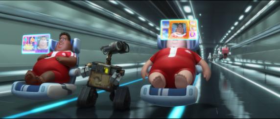 Wall-E Hoverchairs Technology