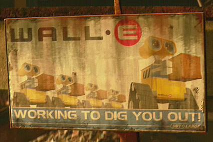WALL-E Working to Dig you out