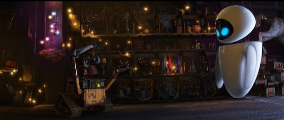 Wall-E's Home and Treasures