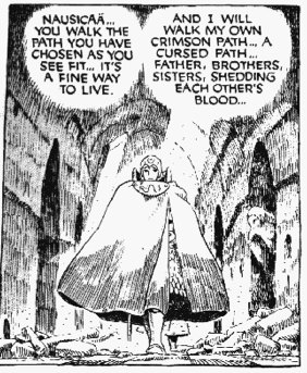 Nausicaa + Kushana A fine way to live