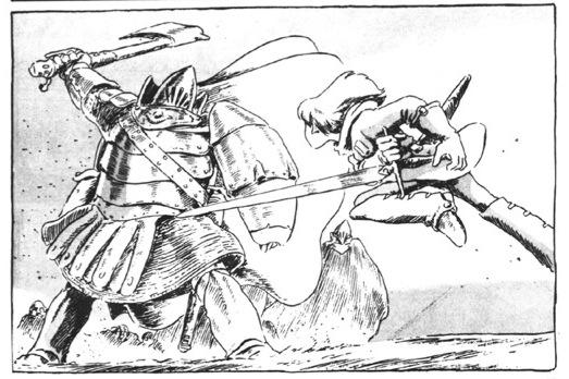 Nausicaa Duels Torumekian soldier