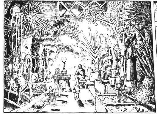 Nausicaa's Undeground Laboratory